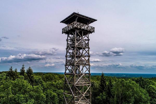 Harimägi and Harimäe viewing tower
